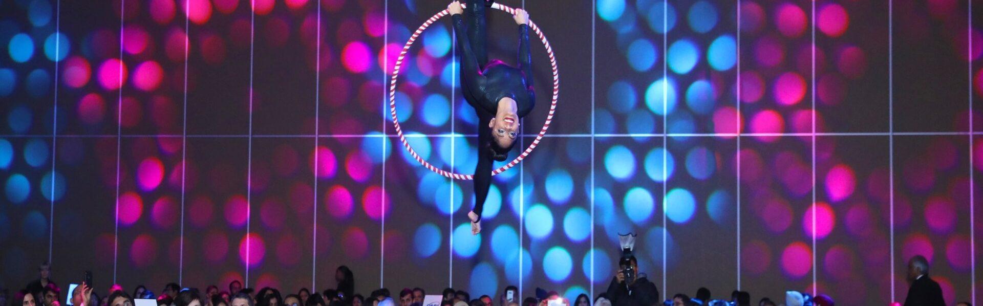 Arial Hoop Dancer