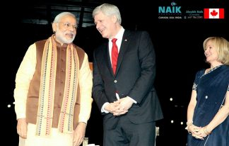 Pm of India, Mr Narendra Modi's Reception in Canada