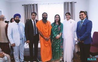 Sister Shivani & Baba ramdev at CG's House