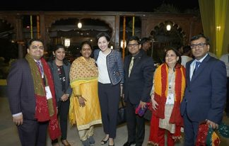 Dinner reception and meeting with Mayor of Ahmedabad